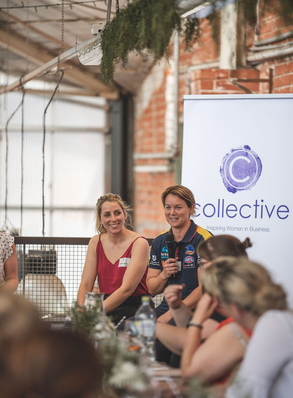 AFLW star Courtney Cramey teams up with Fiona Lawrie to headline local launch of Collective